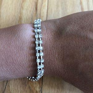 Faux Diamond Bracelet